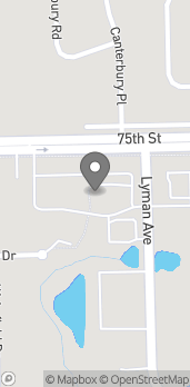 Mapa de 2415 75th Street en Darien
