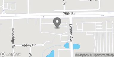 Map of 2415 75th Street in Darien