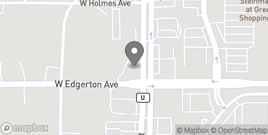 Map of 5075 S 76th St in Greenfield