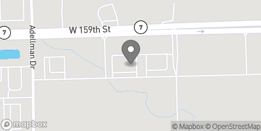 Map of 16443 W 159th St in Lockport