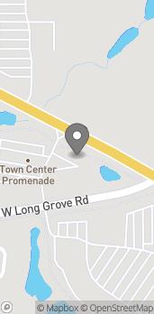 Mapa de 21690 W. Long Grove Road en Deer Park