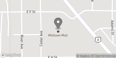 Map of 1060 S. Stephenson Ave in Iron Mountain
