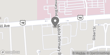 Map of 1753 Springhill Ave in Mobile