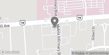 Mapa de 1753 Springhill Ave en Mobile