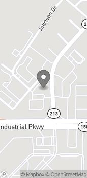 Mapa de 1204 Shelton Beach Rd en Saraland