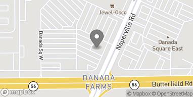 Map of 260 Danada Square W in Wheaton