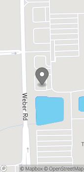 Map of 297 S. Weber Road in Romeoville