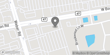 Map of 1233 W Boughton Rd in Bolingbrook