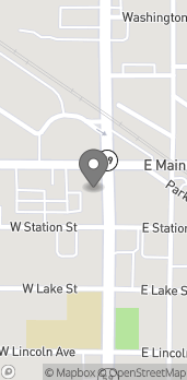 Map of 110 S. Hough Street in Barrington