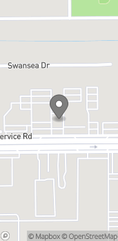 Mapa de 3730 Airport Blvd en Mobile