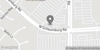 Map of 2640 W Schaumburg Rd in Schaumburg