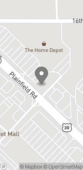 Map of 2901 Plainfield Road in Joliet