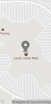 Map of 3340 Mall Loop Dr in Joliet