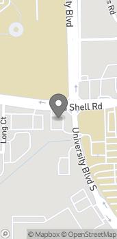 Mapa de 5701 Old Shell Road en Mobile