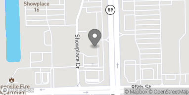 Map of 2936 Showplace Dr in Naperville
