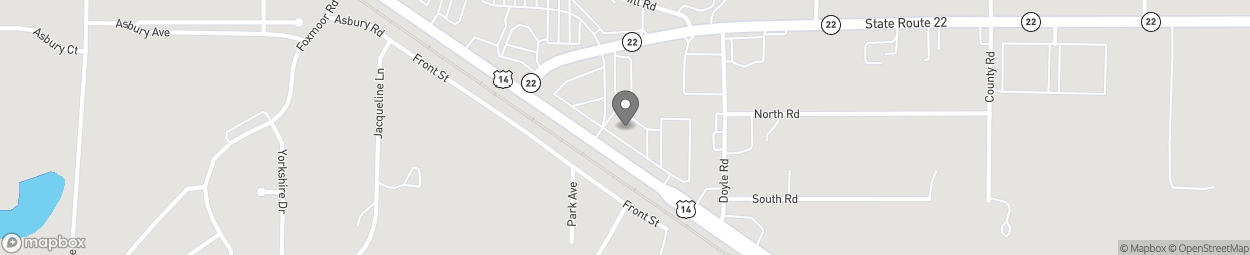 Map of 910 Northwest Hwy in Fox River Grove