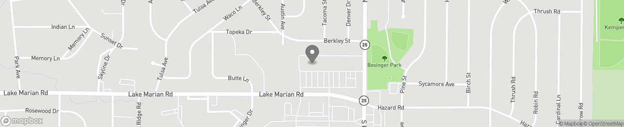 Map of 340 Lake Marian Rd in Carpentersville