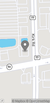 Map of 2902 Kirk Road in Aurora