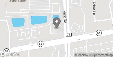 Map of 2902 Kirk Road in Aurora