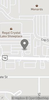 Map of 4912 Northwest Highway in Crystal Lake