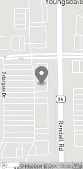 Map of 312 Randall Rd in South Elgin