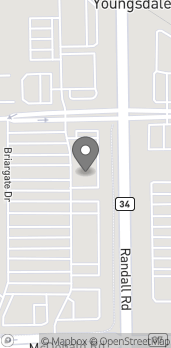 Mapa de 312 Randall Rd en South Elgin