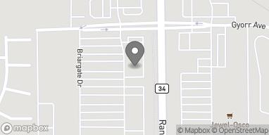 Map of 312 Randall Rd in South Elgin