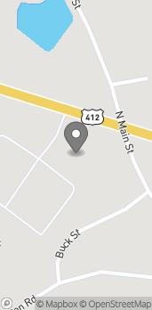 Map of 541 W Church St in Lexington