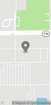 Mapa de 1622 W Reynolds St en Pontiac