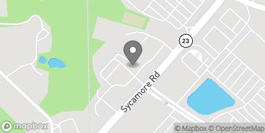 Mapa de 2205 Sycamore Rd en Dekalb