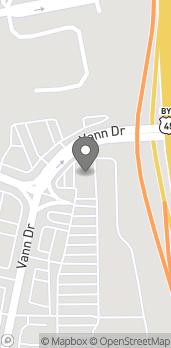 Map of 1012 Vann Drive in Jackson