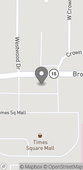 Map of 3909 Broadway St in Mt. Vernon