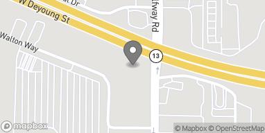 Mapa de 2703 W Deyoung Street en Marion