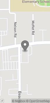 Map of 296 Beauvoir Rd in Biloxi