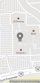 Map of 2600 Beach Blvd in Biloxi