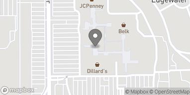 Map of 2600 Beach Blvd in Biloxi