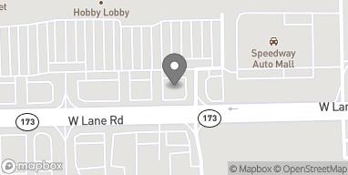 Mapa de 1574 W Lane Rd en Machesney Park