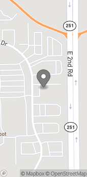 Mapa de 4361 Venture Drive en Peru