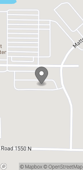 Map of 335 Mattes Ave in Vandalia