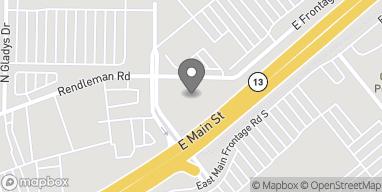 Mapa de 1236 East Main en Carbondale
