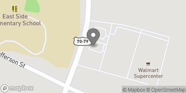 Mapa de 1125 S Dupree Ave en Brownsville