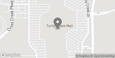 Map of 1000 Turtle Creek Drive in Hattiesburg