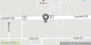 Map of 1110 Lincoln St in Rhinelander