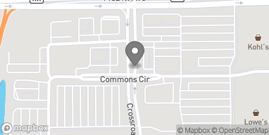 Map of 180 Crossroads Dr in Plover