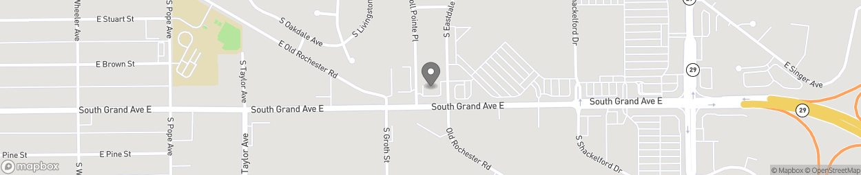 Map of 2721 Southgrand Ave East in East Springfiel