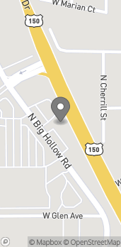 Map of 5012 North Big Hollow Rd in Peoria