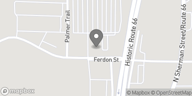 Mapa de 1203 W Ferdon St en Litchfield