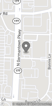 Map of 1684 North Germantown Pkwy in Cordova