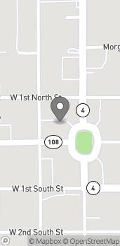 Mapa de 504 W Side Square en Carlinville
