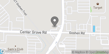 Map of 6697 Center Grove Road in Edwardsville